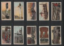 Cigarette cards set of 50 Railway Working New Zealand